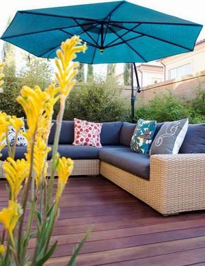 现代风格屋顶花园设计装修效果图赏析