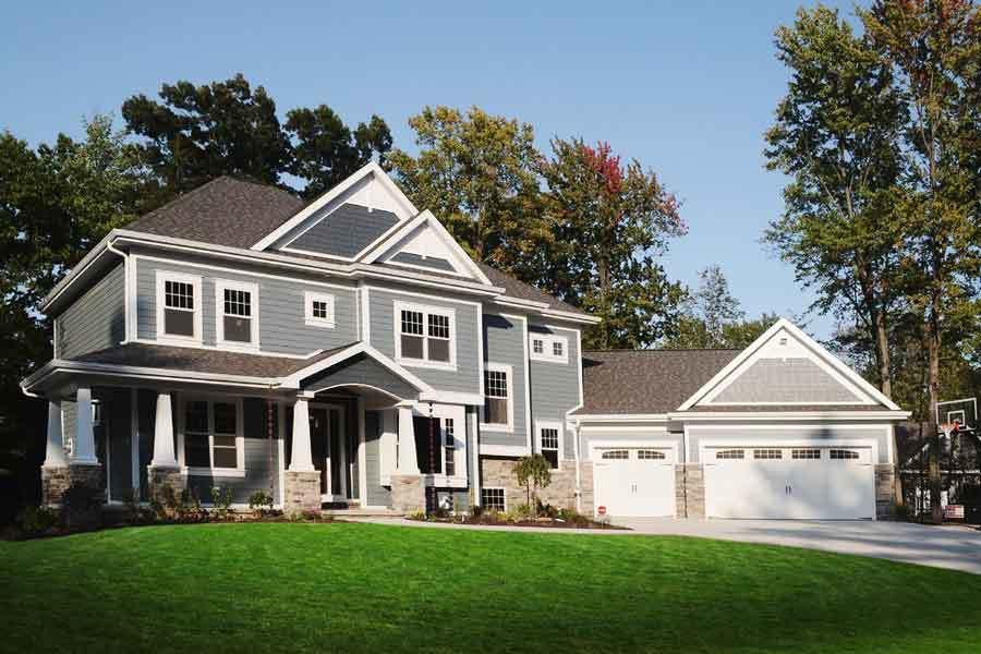 300平米现代美式风格独栋别墅装修效果图