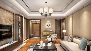 165平米新中式风格大户型室内装修效果图赏析