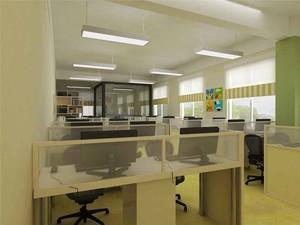90平米现代简约风格办公室装修效果图