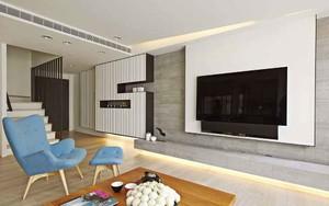 90平米北欧风格轻松两居室装修效果图