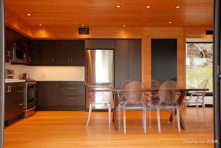后现代风格大户型室内餐厅装修效果图