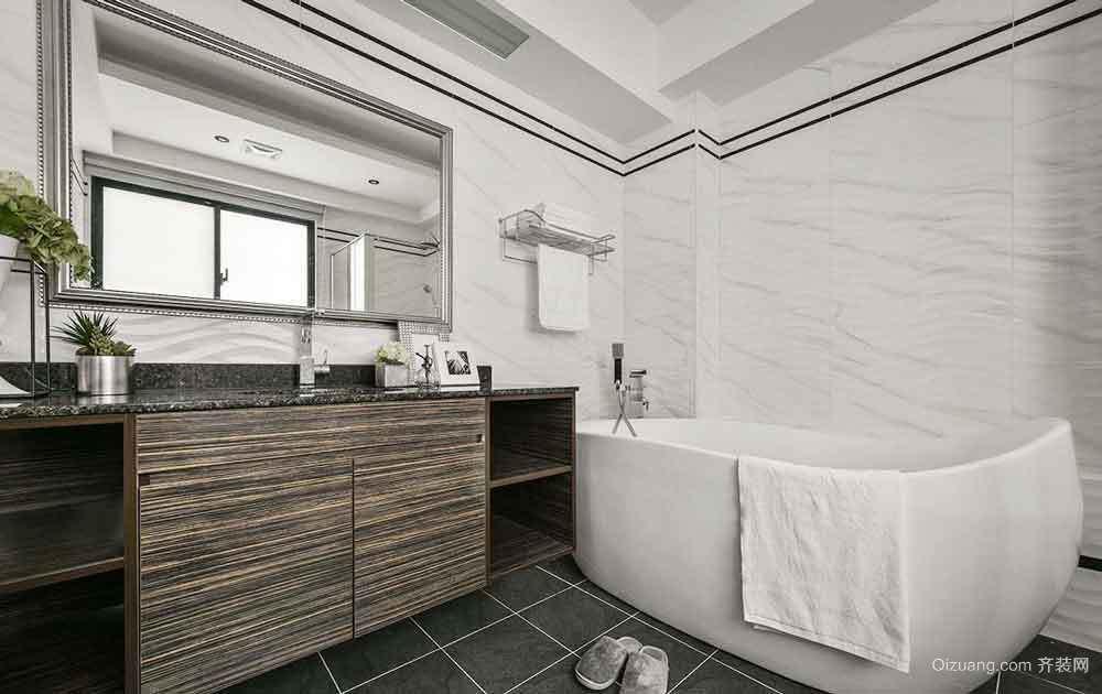 140平米简欧风格复式楼室内装修效果图赏析