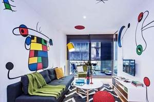 70平米现代简约风格两室一厅装修效果图
