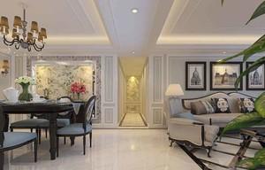 精致典雅欧式风格大户型室内装修效果图赏析