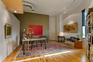 后现代风格大户型室内书房室内装修效果图赏析