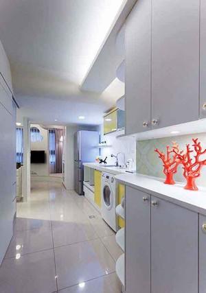 45平米简约风格单身公寓装修效果图赏析