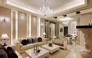 164平米新古典主义风格大户型室内装修效果图