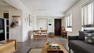 89平米宜家风格自然舒适两室两厅装修效果图