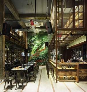 乡村风格主题中餐厅设计装修效果图