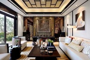 145平米精致东南亚风格三室两厅室内装修效果图