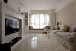 温馨唯美现代美式风格大户型室内装修效果图赏析