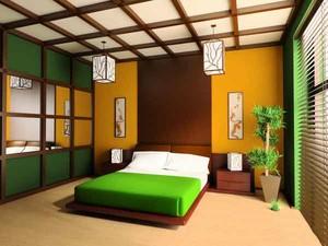 42平米日式风格宾馆客房装修效果图赏析