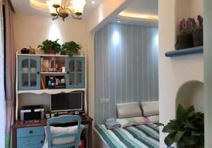 地中海风格清新舒适儿童房设计装修效果图赏析