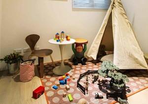 简欧风格时尚创意儿童房间装修效果图