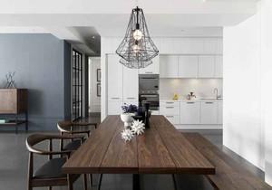 后现代风格大户型室内餐厅吊灯设计装修效果图赏析