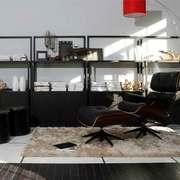 后现代风格低调典雅书房设计装修效果图赏析