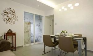 123平米简欧风格三室两厅室内装修效果图赏析
