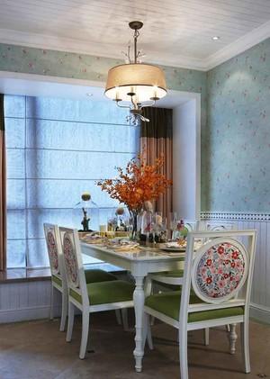 144平米欧式田园风格大户型室内装修效果图案例