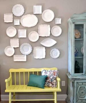 时尚创意美式风格照片墙装修效果图大全