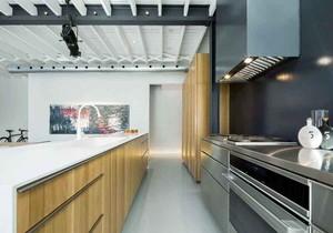 后现代风格大户型室内整体厨房设计装修效果图
