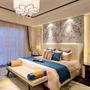 新中式风格大户型精致卧室装修效果图赏析