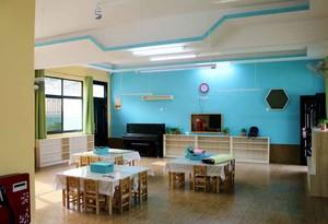 70平米现代简约风格幼儿园教室装修效果图赏析