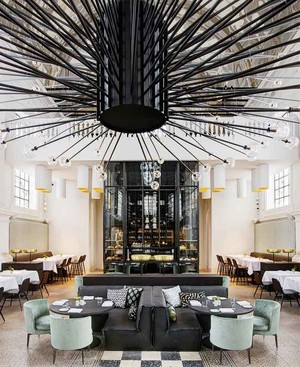 欧式风格精致典雅咖啡厅装修效果图赏析