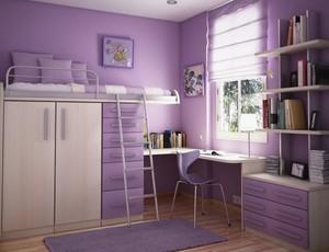 现代简约风格精致儿童房装修效果图大全