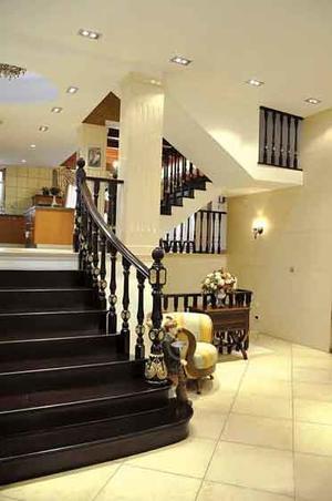 300平米欧式风格别墅室内装修效果图赏析