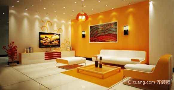 现代简约风格客厅沙发装修效果图大全