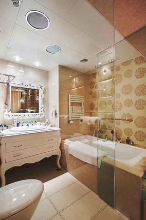 欧式风格卫生间洗手盆装修效果图赏析