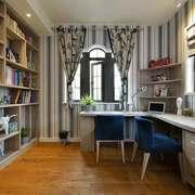 12平米简约风格书房装修效果图赏析