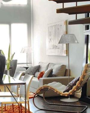 55平米现代风格单身公寓装修效果图赏析