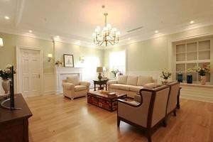120平米现代简约美式风格室内装修效果图案例