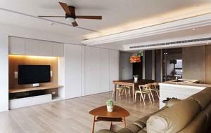 120平米宜家风格自然简约室内装修效果图