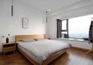 宜家风格三居室卧室飘窗设计装修效果图赏析