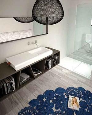 现代风格时尚简约卫生间浴室柜装修效果图大全