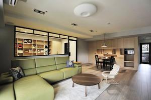 120平米后现代风格简约舒适室内装修效果图赏析