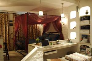 63平米混搭风格小户型室内装修效果图赏析