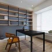 8平米现代风格极简主义书房装修效果图