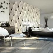 现代简约风格大户型精美卧室背景墙装修效果图赏析