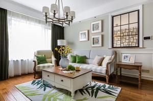 156平米现代简约美式风格大户型室内装修效果图案例