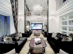 315平米新古典主义风格别墅装修效果图案例