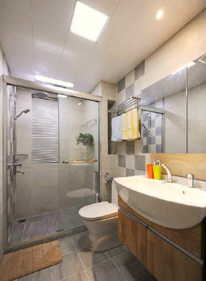 56平米宜家风格自然简约单身公寓装修效果图案例