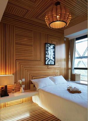 中式风格简约宾馆客房装修效果图案例