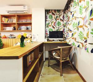 52平米宜家风格时尚混搭单身公寓装修效果图案例
