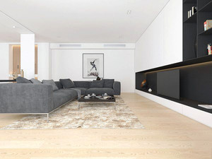 120平米后现代风格室内装修效果图案例