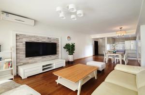 现代简约美式风格室内两室两厅室内装修效果图赏析