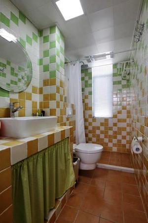 120平米欧式田园风格自然清新室内装修效果图赏析